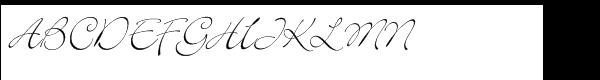Bickley™ Script Std  What Font is