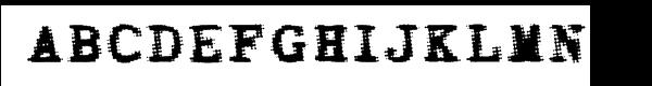 Bighead™ Bold フリーフォントのダウンロード