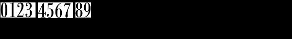 Bodoni Antiqua Cond Regular Font OTHER CHARS