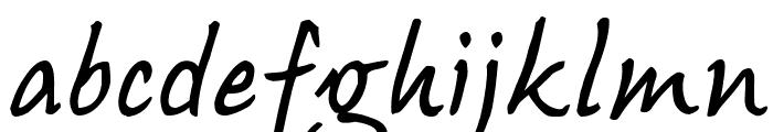 Bojangles Font LOWERCASE