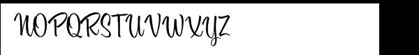 Bounce Script Font UPPERCASE