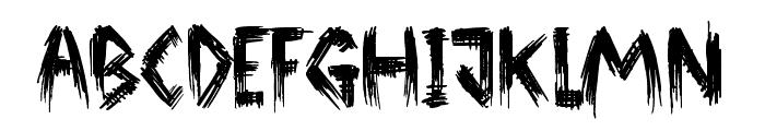 Broken Ground  What Font is