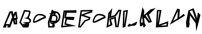 Broken Lamp Extended Oblique  What Font is