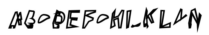 Broken Lamp Oblique  What Font is
