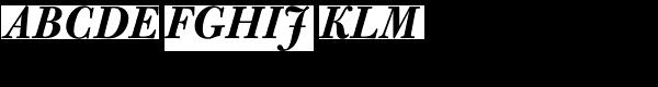 Bulmer MTStd-Bold Italic  What Font is