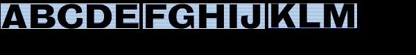 Bureaugrotesque sevennine font for Bureau grotesque