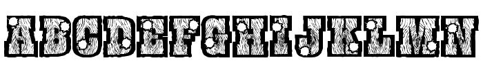BurrisShootOut Font UPPERCASE