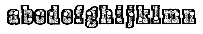 BurrisShootOut Font LOWERCASE