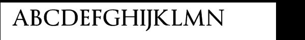 Byington Bold Font UPPERCASE