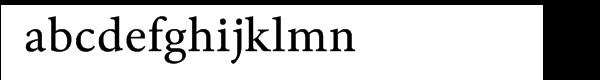 Byington Bold Font LOWERCASE