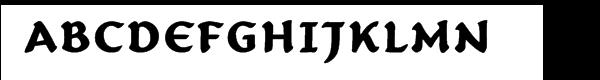 Carlin Script™ Bold Free Fonts Download