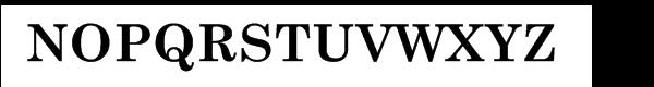 Century Schoolbook Cyrillic Bold Font UPPERCASE