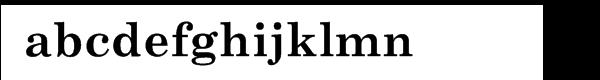 Century Schoolbook Cyrillic Bold Font LOWERCASE