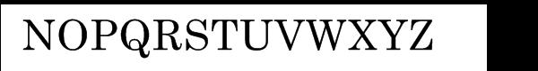 Century Schoolbook Cyrillic Font UPPERCASE