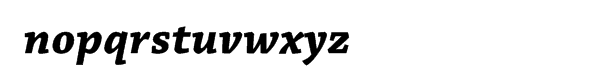 Chaparral Pro Bold Italic Caption Font LOWERCASE