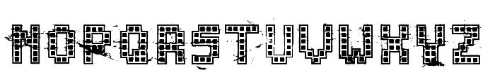 ChuckyMendoza-Drunken Font LOWERCASE