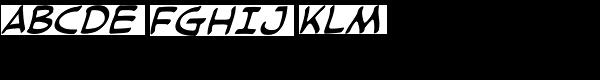 Cloudsplitter LC BB Italic  What Font is