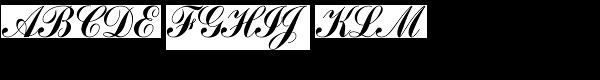Commercial Script T  What Font is