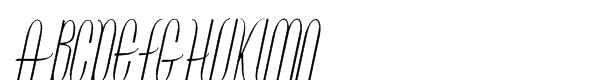 Contouration Std Italic  What Font is