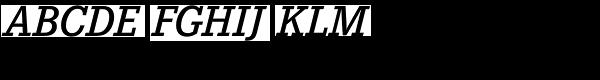 Corporate E Demi Italic  What Font is