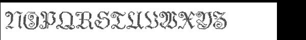 Cross Stitch Std Elaborate Font UPPERCASE