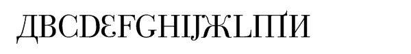 Cyrillic Latino Roman  What Font is