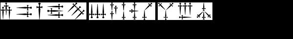 Daggers Alphabet  What Font is