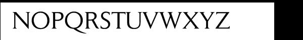 Daily News Pro BQ Regular Font UPPERCASE
