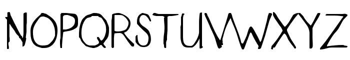 Designer Notes Font UPPERCASE