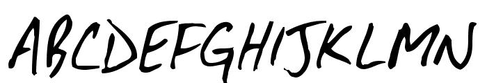 DirtyDarren  What Font is