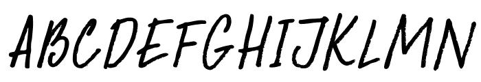 DKAbelia  What Font is
