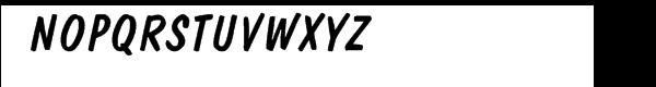 """Domâ""""¢ Com Diagonal Regular Font UPPERCASE"""