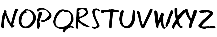 Eager Naturalist Font UPPERCASE