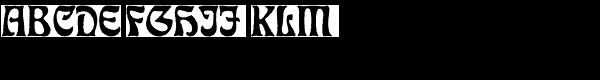 Eckmann Antique D  What Font is