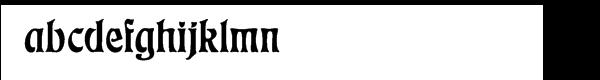 Eckmann™ Com Regular Font LOWERCASE