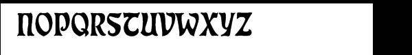 "Eckmannâ""¢ Regular Font UPPERCASE"