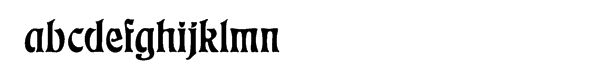 "Eckmannâ""¢ Regular Font LOWERCASE"