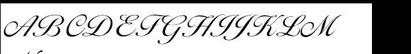 EF Ballantines Script Light  What Font is