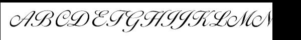 EF Ballantines Script Turkish Light  What Font is