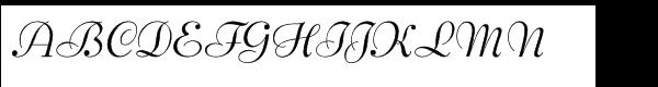 EF Bernhard Schonschrift Regular  What Font is
