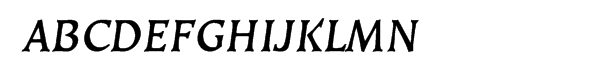 EF Kiev Bold Oblique Small Caps  What Font is