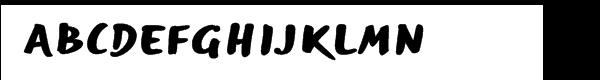 EF Optiscript Bold Condensed Free Fonts Download