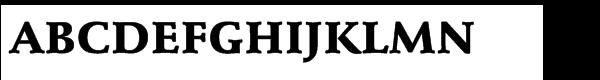 EF Schneidler® Black  What Font is