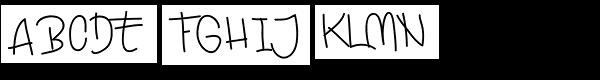 Ekologie Hand  What Font is