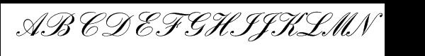 English Script Com Demi  What Font is