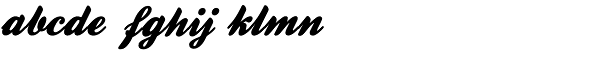 Falkner Pro Font LOWERCASE