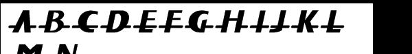 Fat Font Grotesk Std Streamline Italic  What Font is