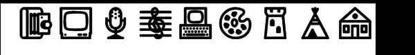 Fatline Bold Font LOWERCASE