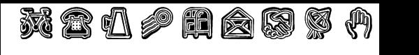Fatline Shift Font UPPERCASE