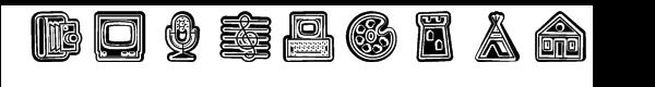 Fatline Shift Font LOWERCASE